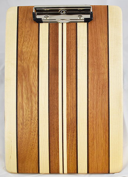 Maple and Jatoba Clipboard