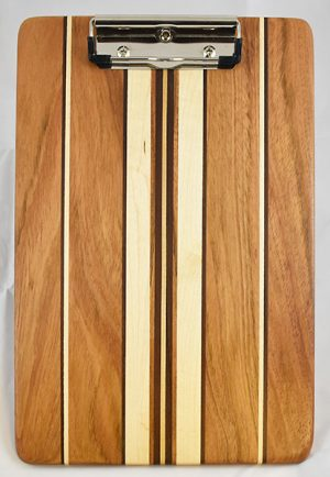 Jatoba and Maple Clipboard