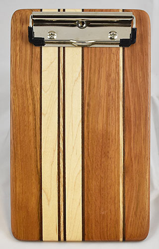 Jatoba and Maple Clipboard