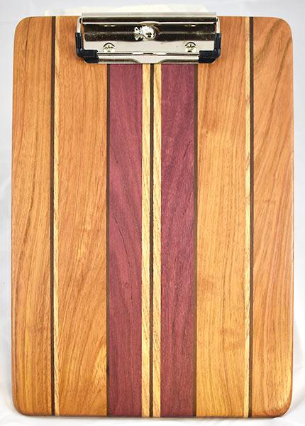 Jatoba and Purple Heart Clipboard