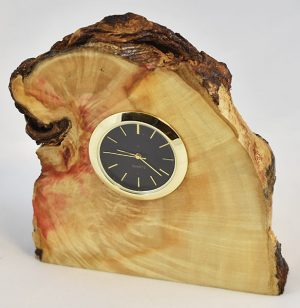 Box Elder Burl Clock