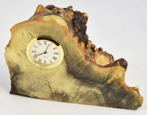 Buckeye Burl Clock