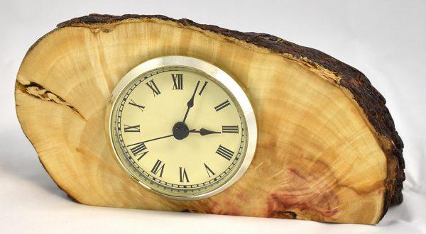 Box Elder Burl Clock