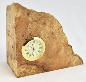 Maple Burl Clock