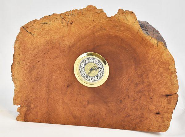 Manzanita Burl Clock