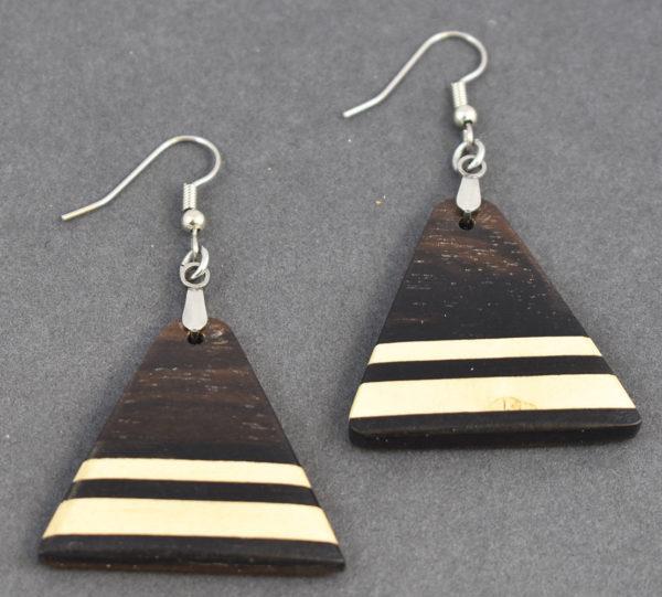 East Indian Rosewood Earrings
