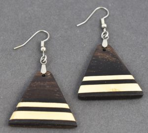 East Indian Rosewood Earrings